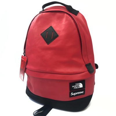 Supreme X Tnf Leather Backpack