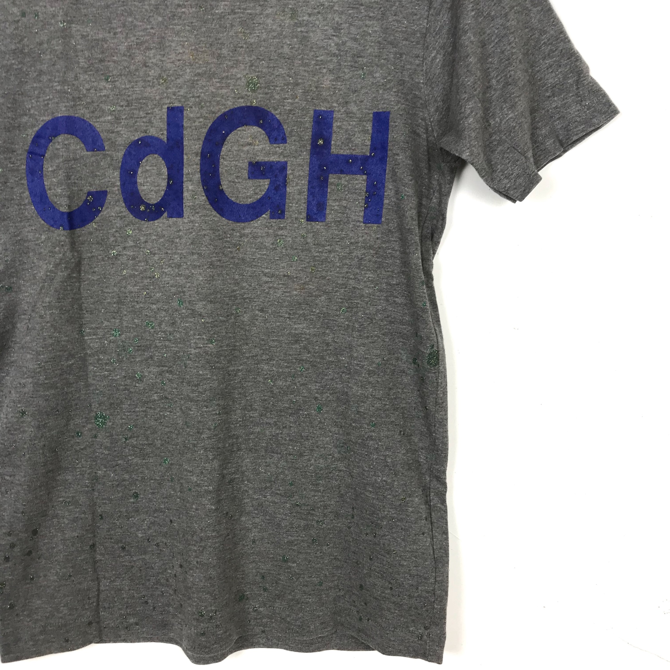 Ad2001 Comme Des Garcons Cdgh Spellout Tees
