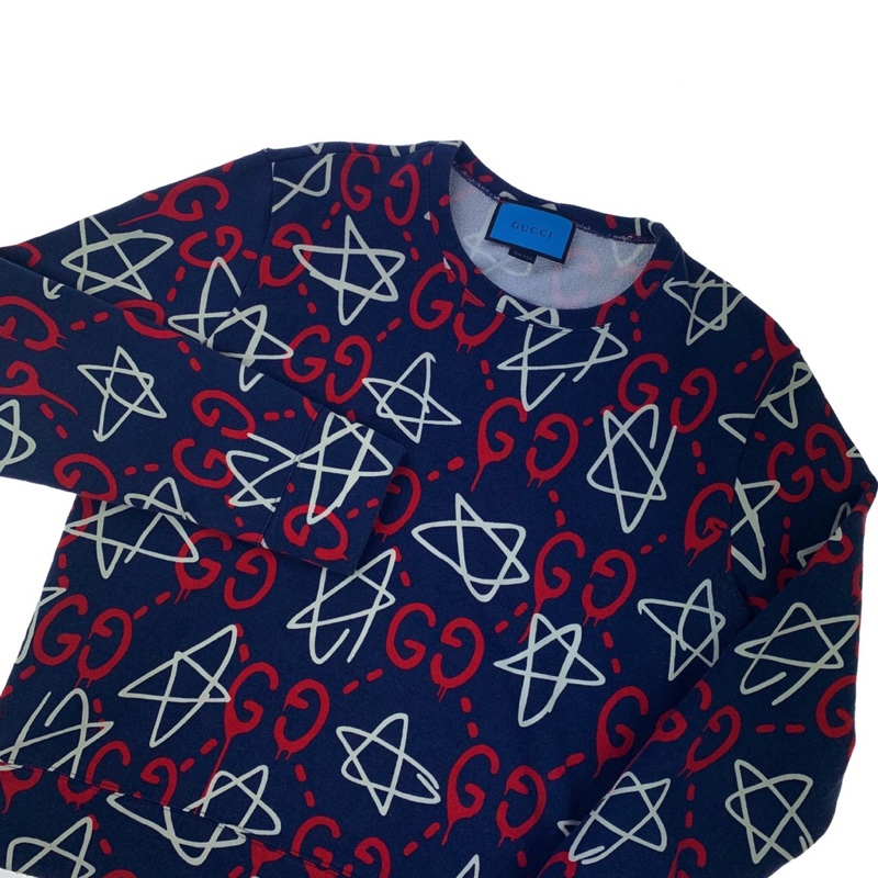 Gucci Ghost Star Sweatshirt