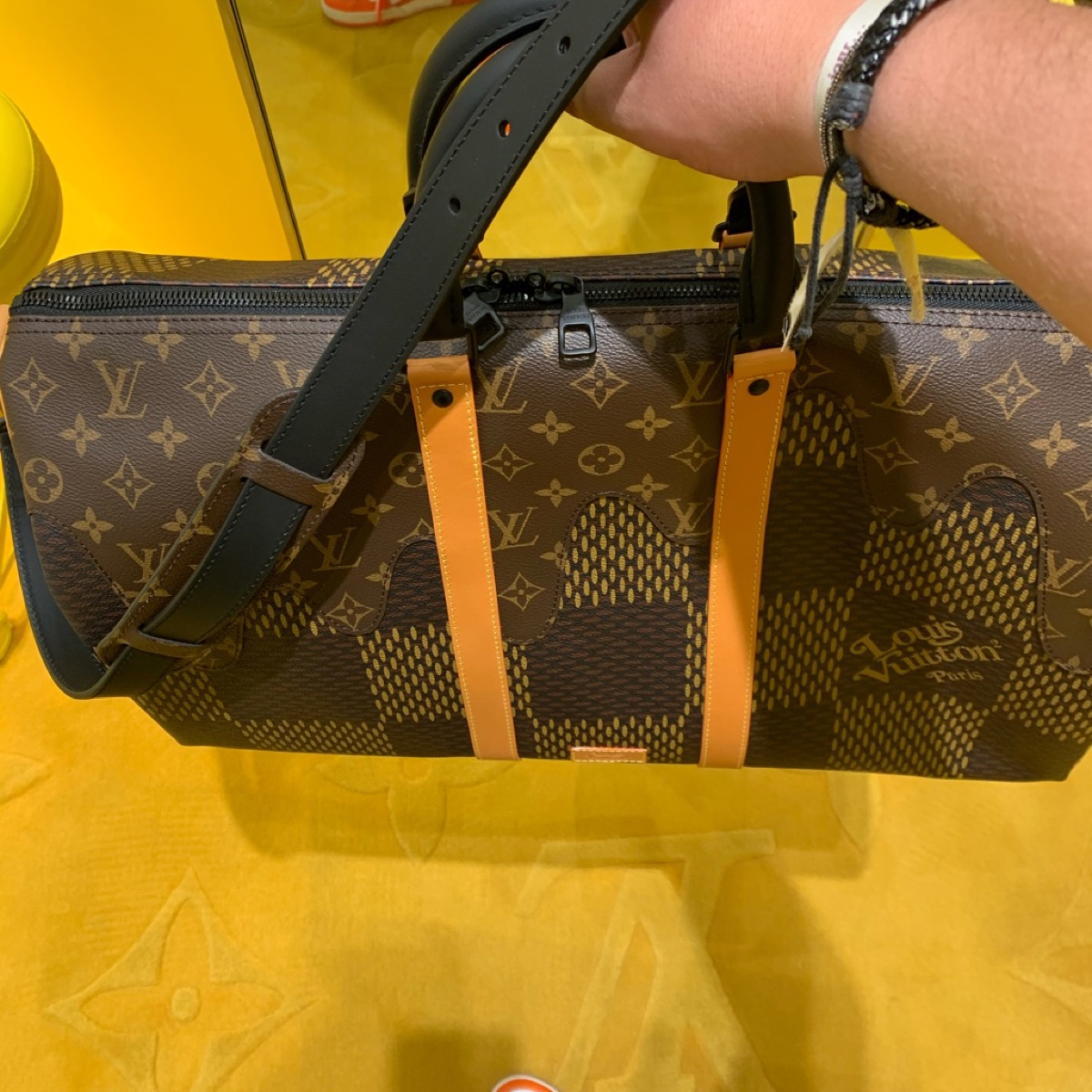 Louis Vuitton x Nigo Keepall Bandouliere 50