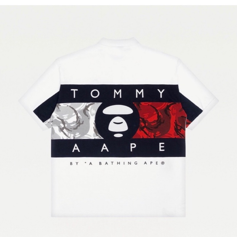 Tommy jeans x Aape polo