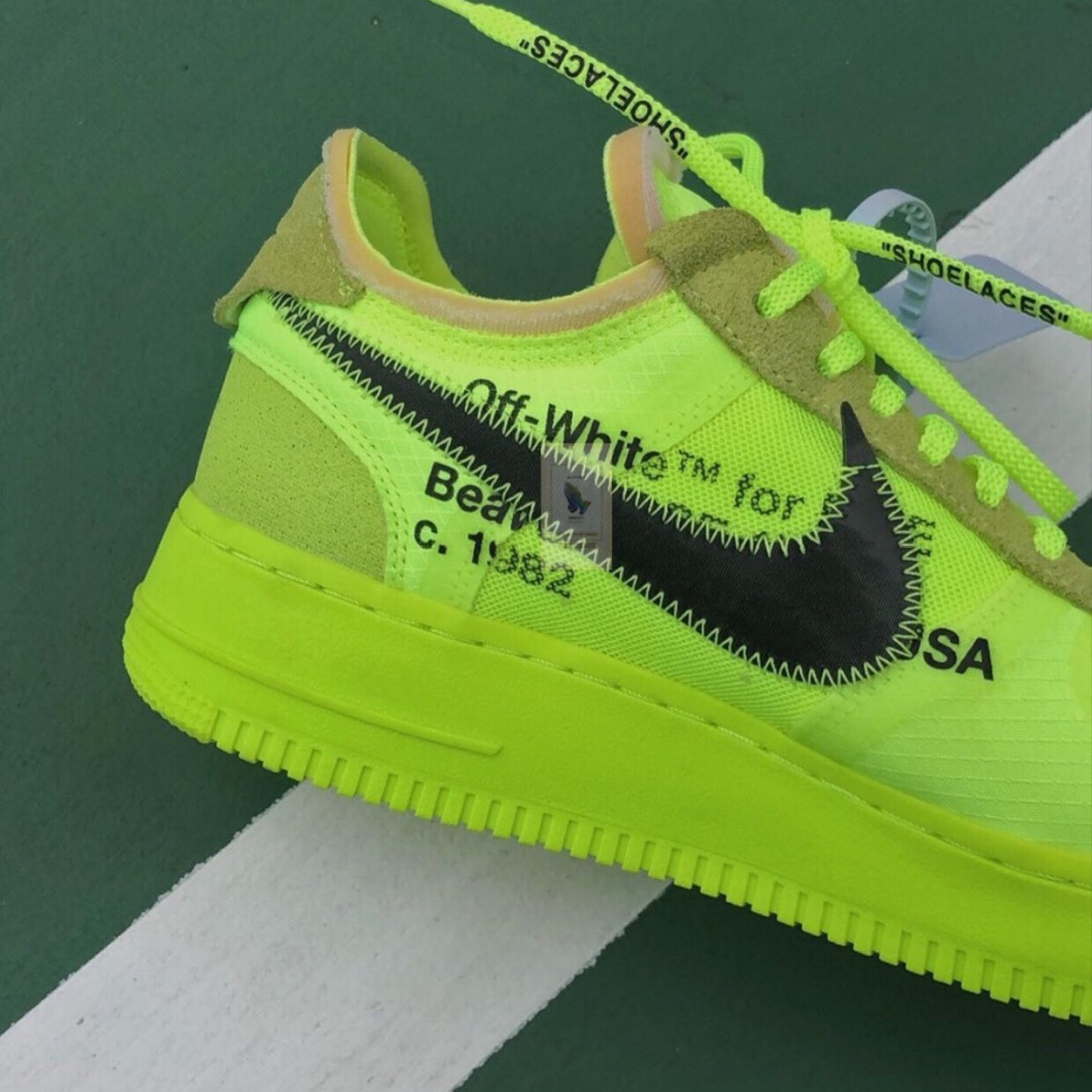 Nike Air Force One X Off White Volt