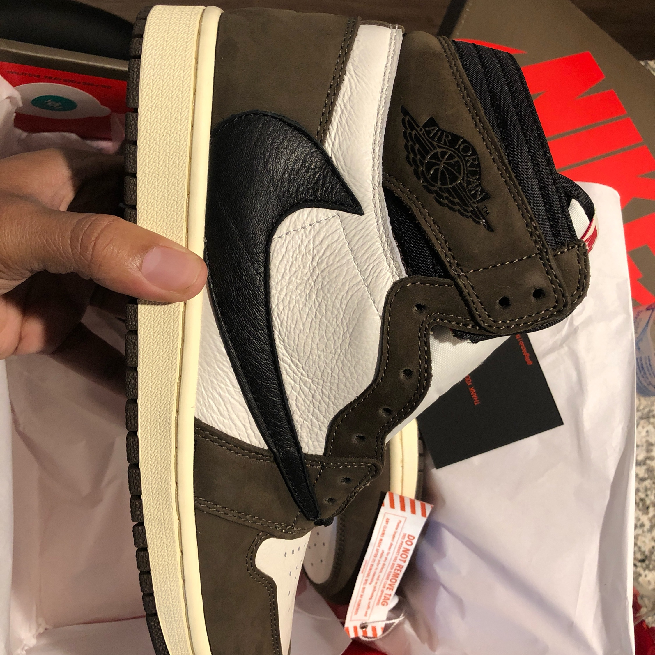 newest b57b1 31fef Air Jordan 1 Travis Scott Sz 10.5 Vnds Cactus Jack