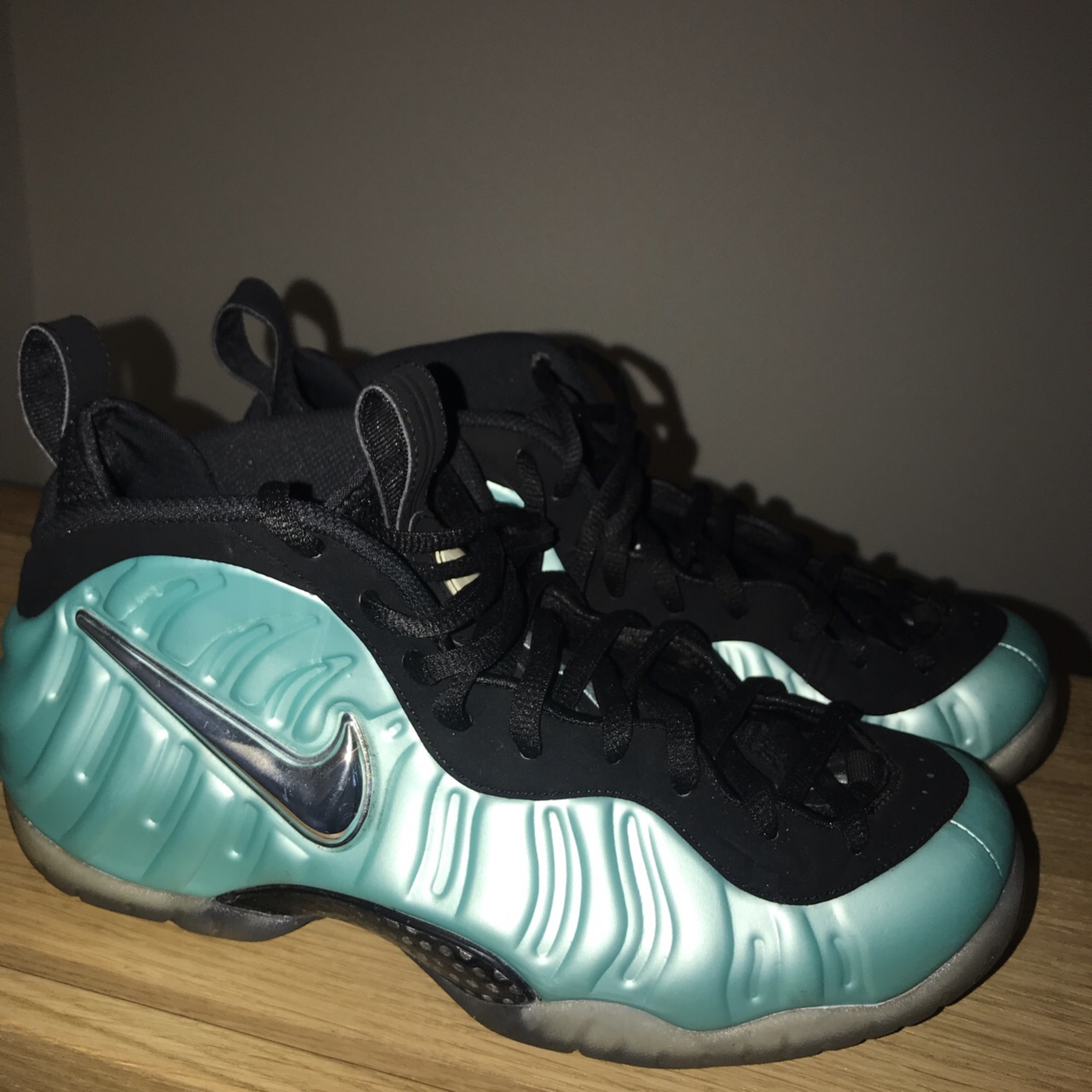 huge discount 70e1e 91fe9 Foamposite Pro Island Green Us 9.5
