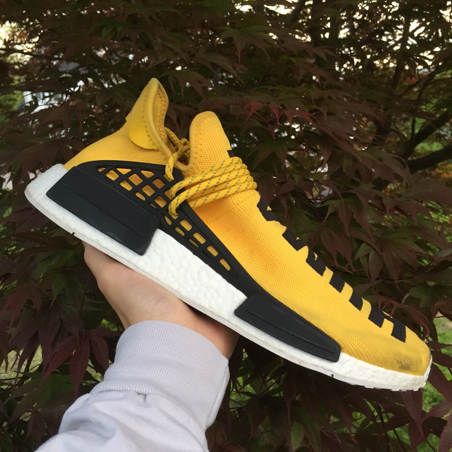 pretty nice 30e65 a99a9 Pharrell X Adidas Nmd 'Human Race' Yellow