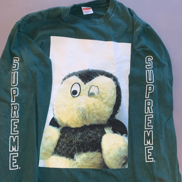 Supreme Mike Kelley AhhYouth! L/S Tee Dark Green