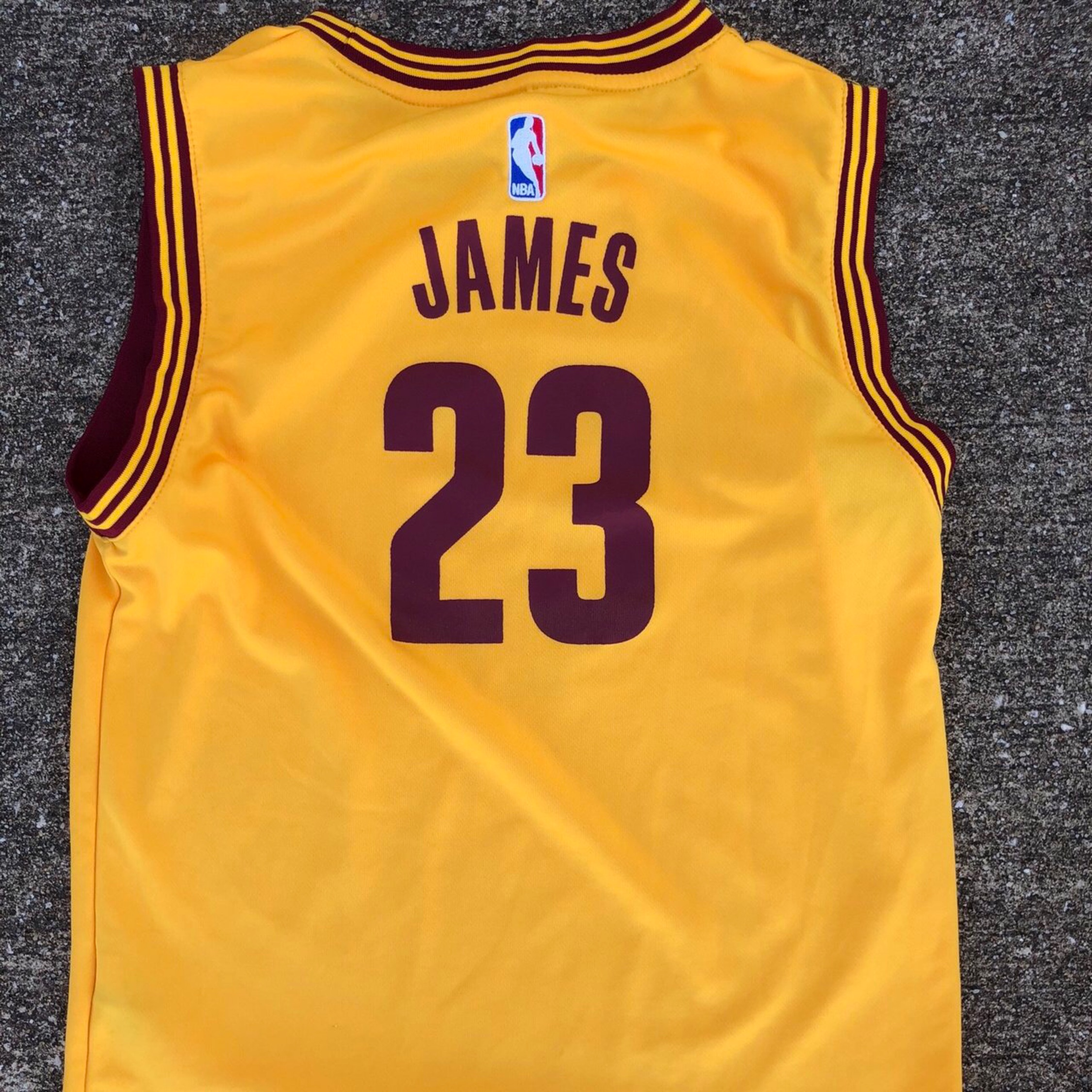 brand new 8b1ca cf1ae Official Adidas Cleveland Cavaliers Jersey