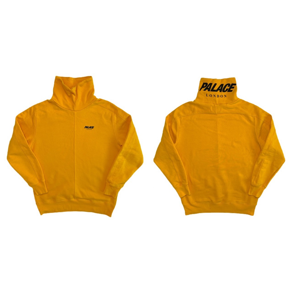 Yellow Palace Sweatshirt Jumper Turtleneck