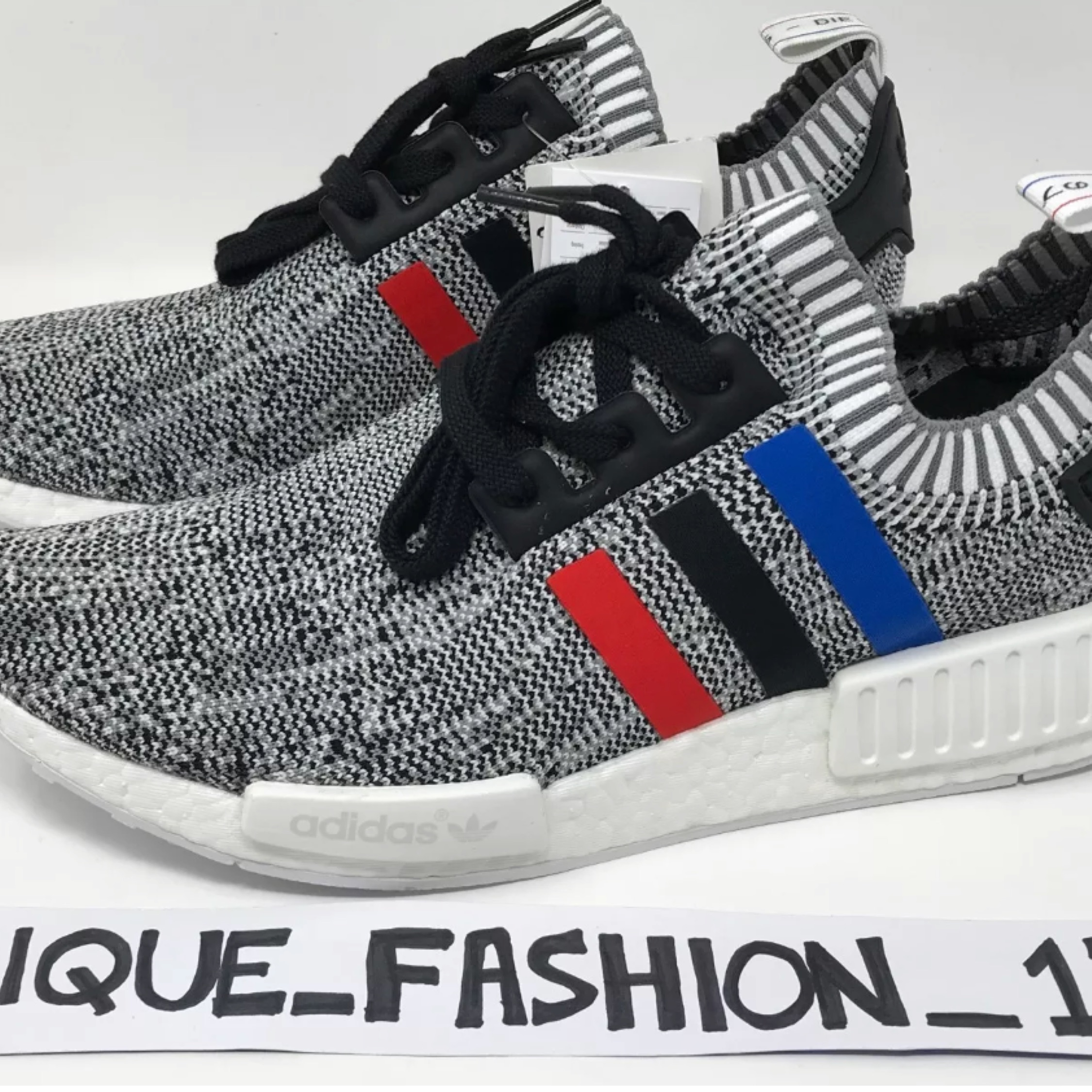 new product 24ac2 74859 Adidas Nmd R1 Grey Tri Colour New Us8.5