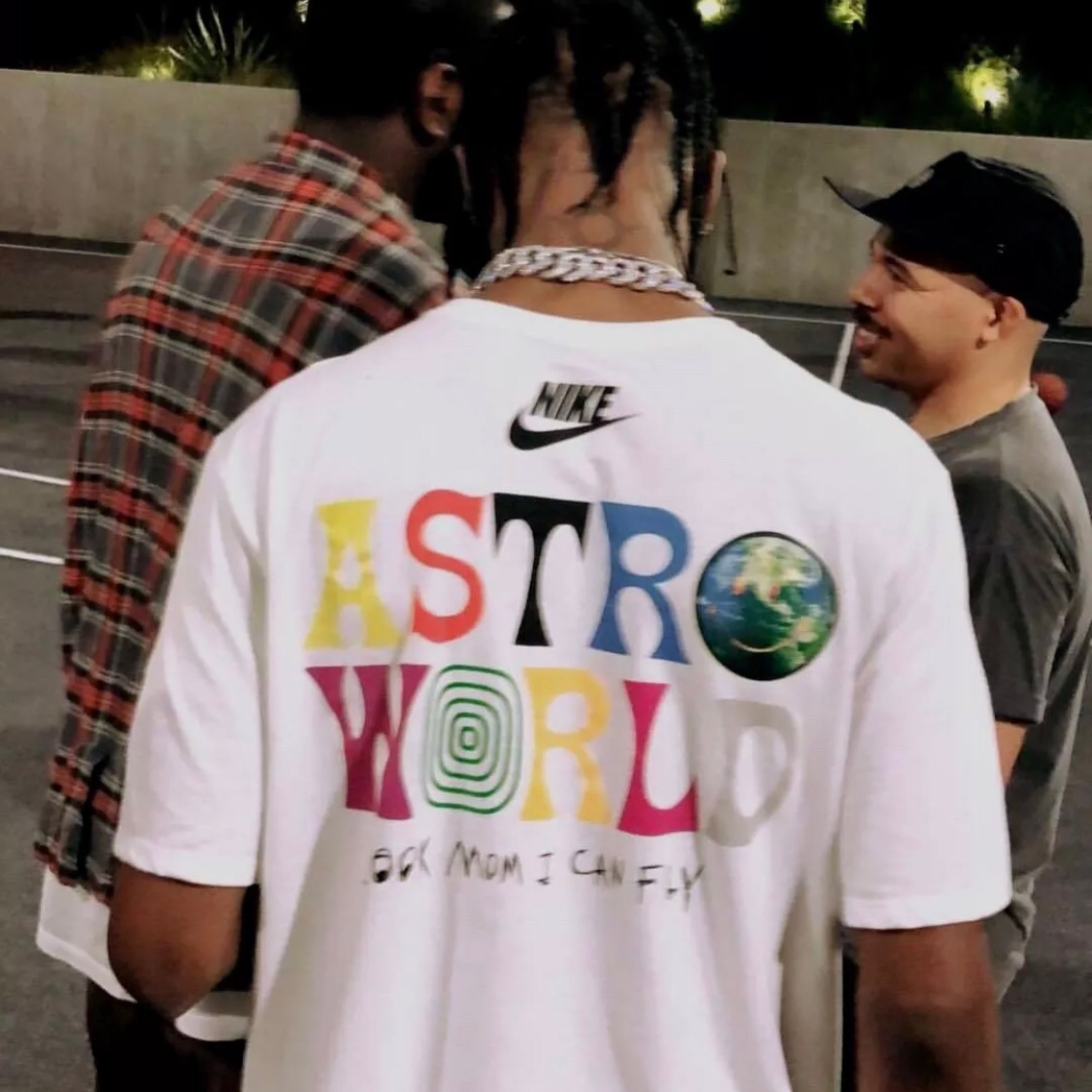new images of designer fashion aliexpress Astroworld Merchandise Nike T Shirt S-Xl