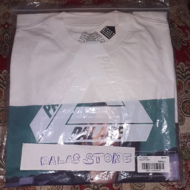 Palace Wise Up T-Shirt White