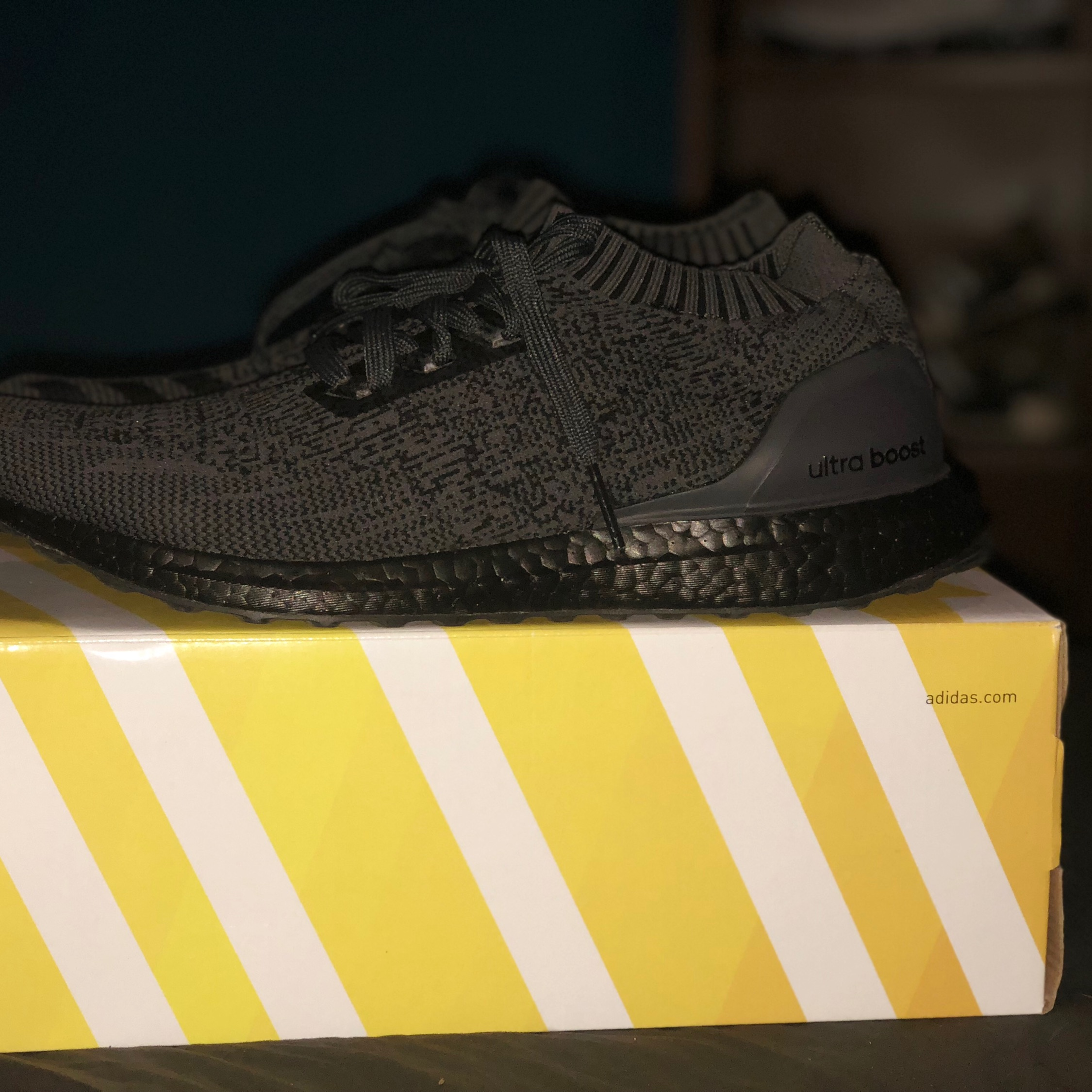 7df54af818674 Adidas Ultraboost Uncaged 2.0 Triple Black