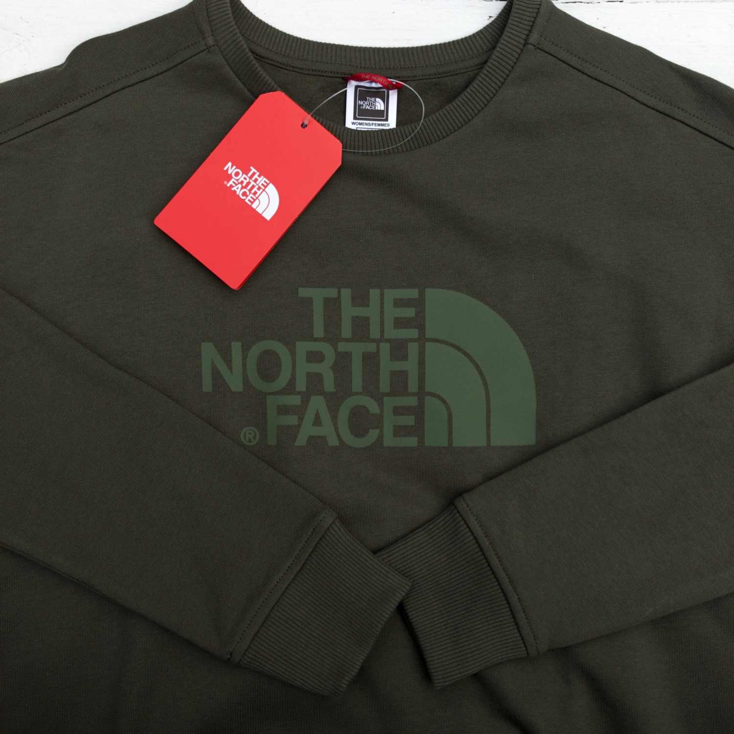 f985a1fb6 Brand New Green The North Face Sweater / Jumper