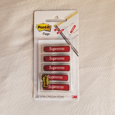 Supreme Post-it Flags Red