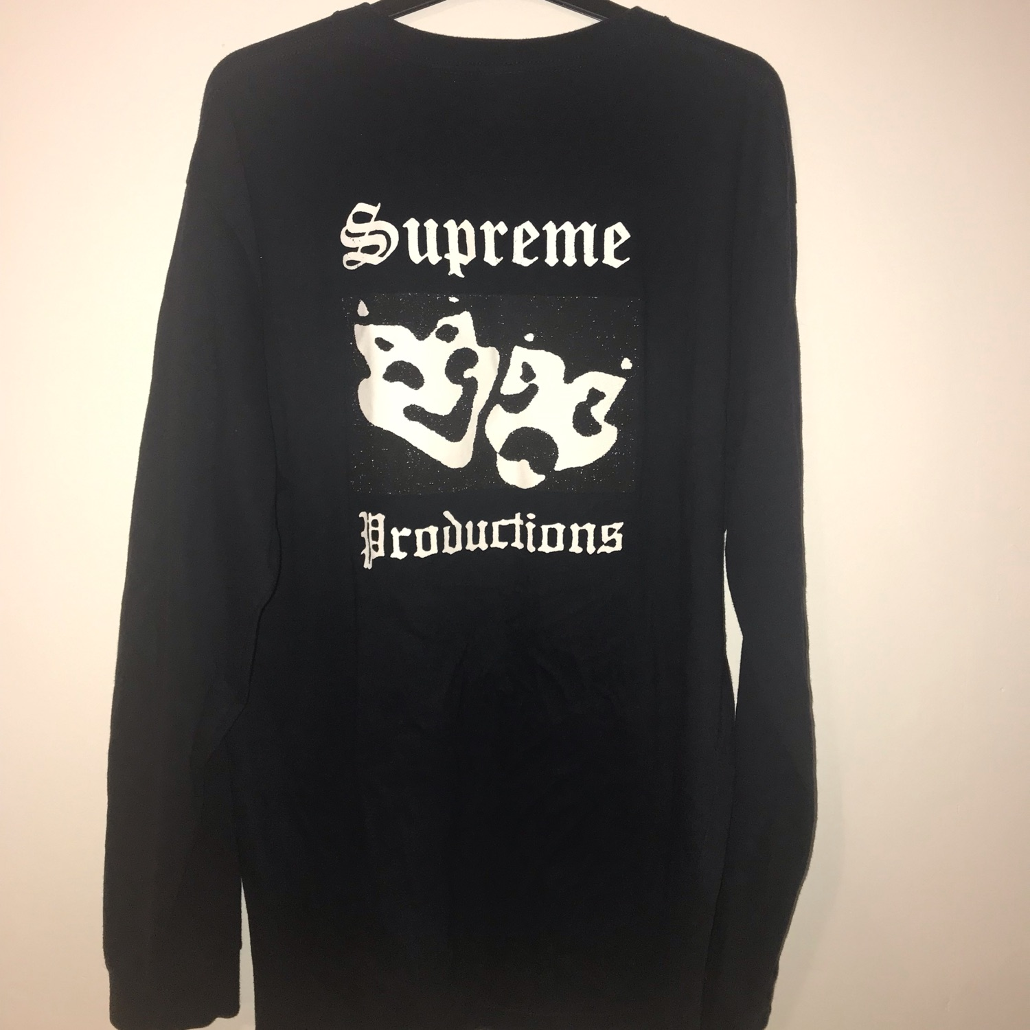 Ss16 Navy Supreme Productions L/S Tee