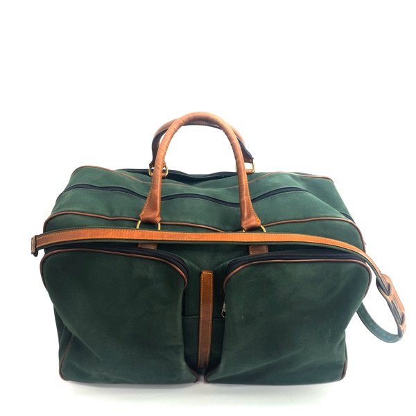 Burberry Vintage  Travel Bag  Green Army Style