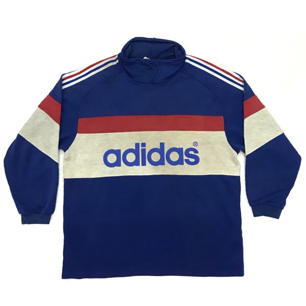 Vintage 90S Adidas Multi Color Spell Out