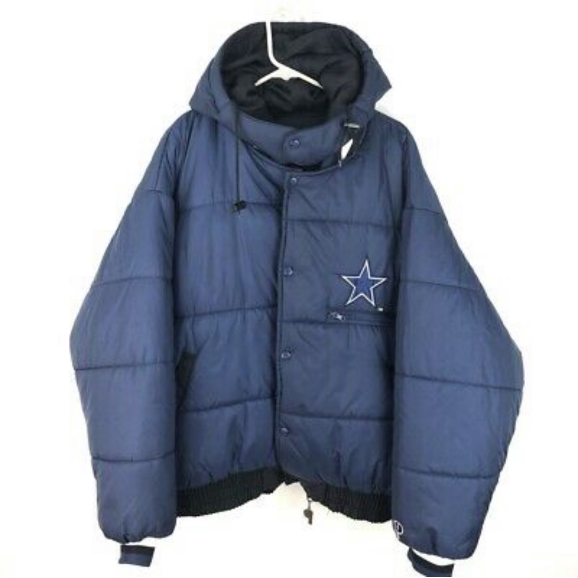 outlet store 58564 b26f8 Vintage Dallas Cowboys Reversible Puffer Jacket