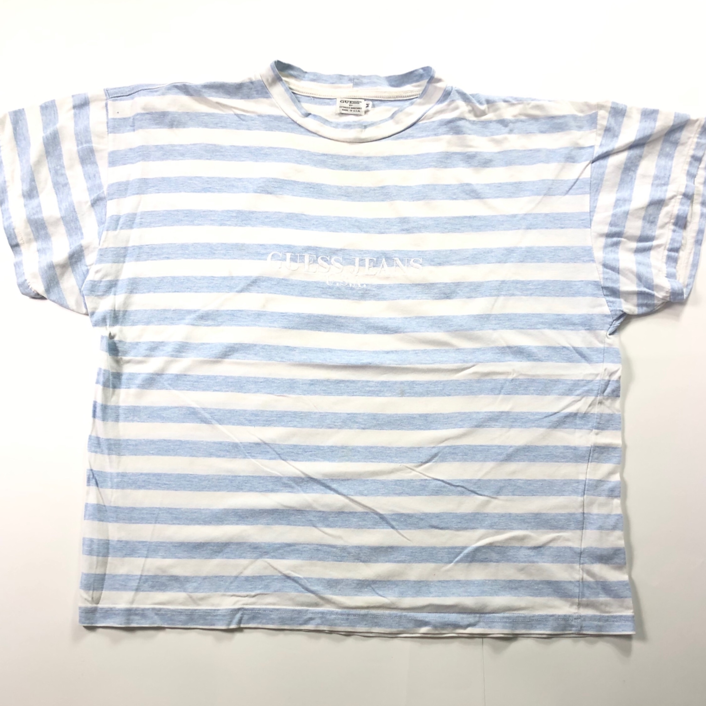 a76915030b60 Asap Rocky Guess Jeans Striped T Shirt - raveitsafe