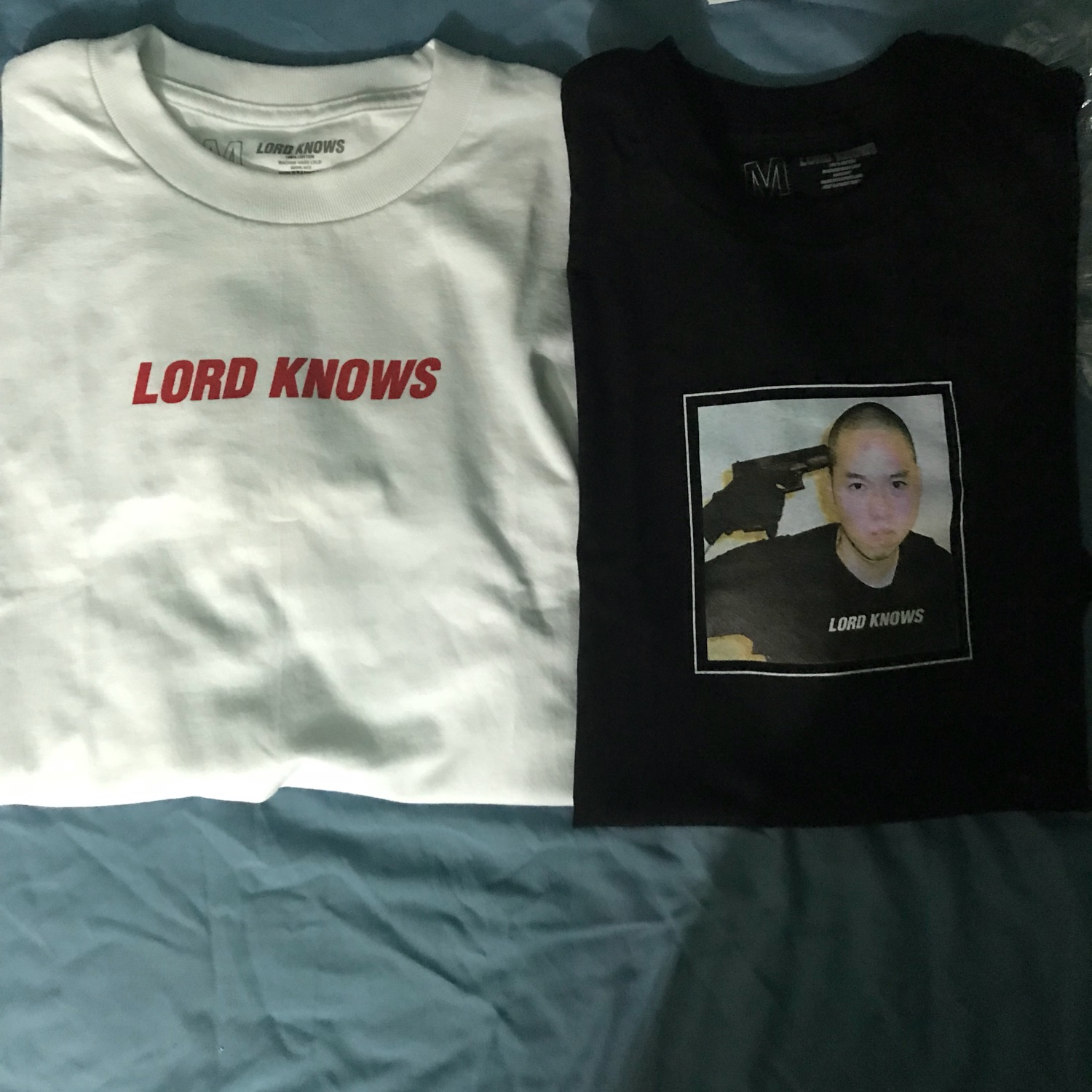 cc88a95f Lord Knows V Tech And Shooters Tee