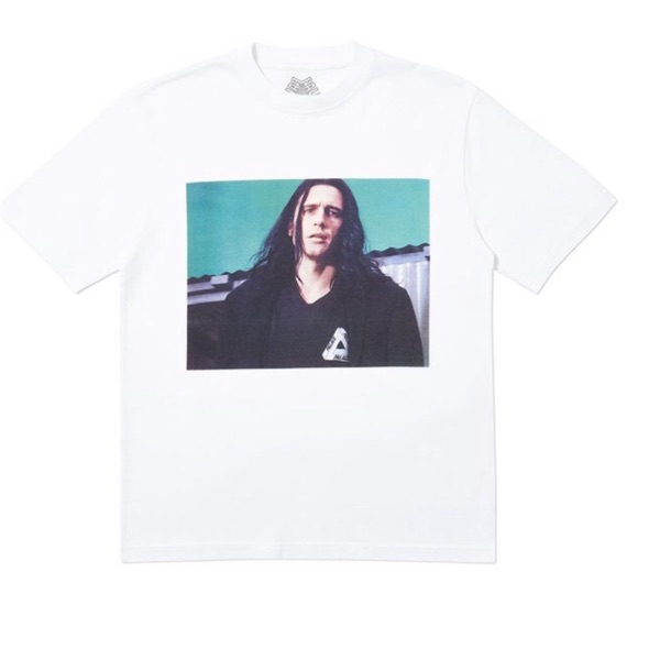 Palace Wise Up Tee White Large