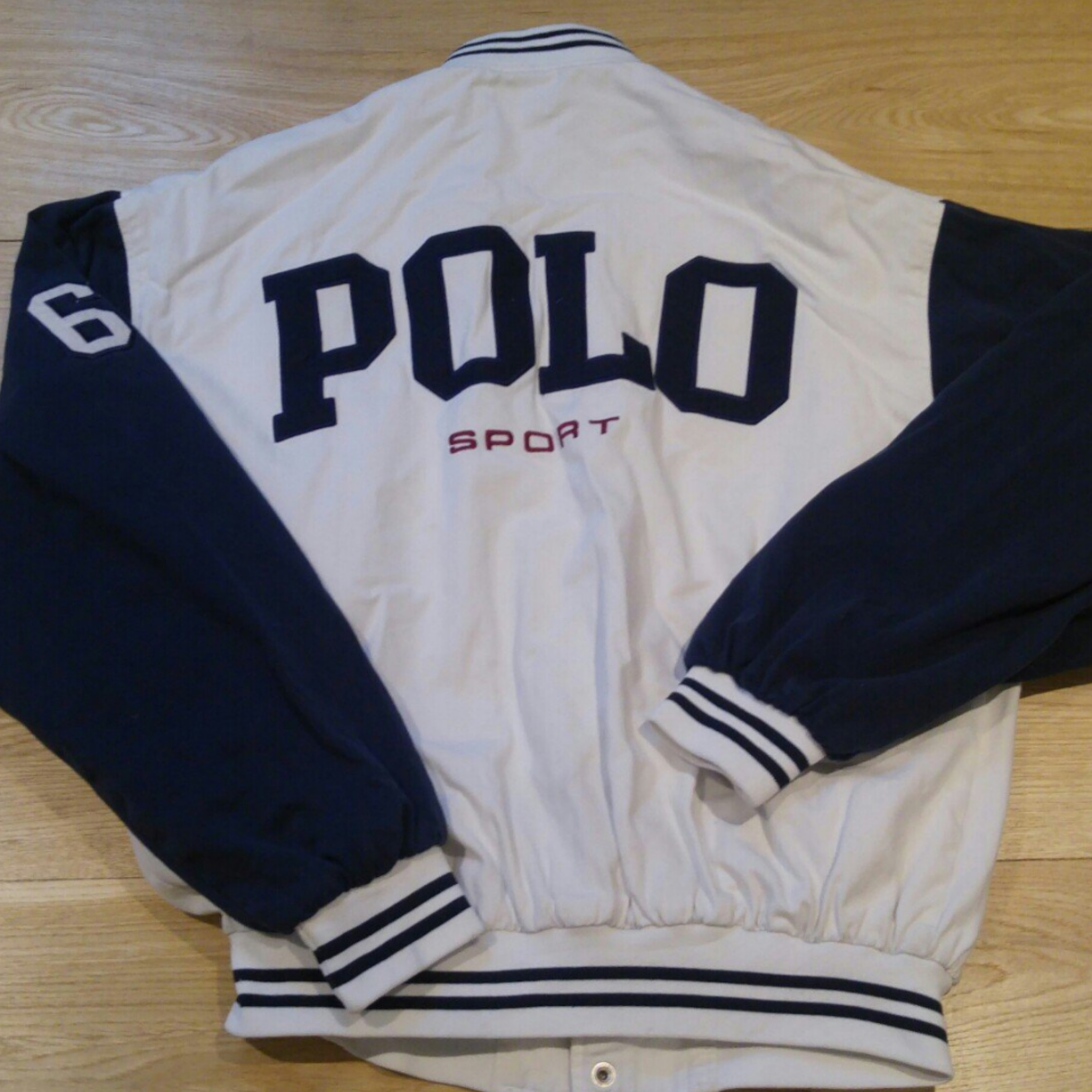 Ralph Polo Police Jacket Sport Badge Lauren fgYyb67