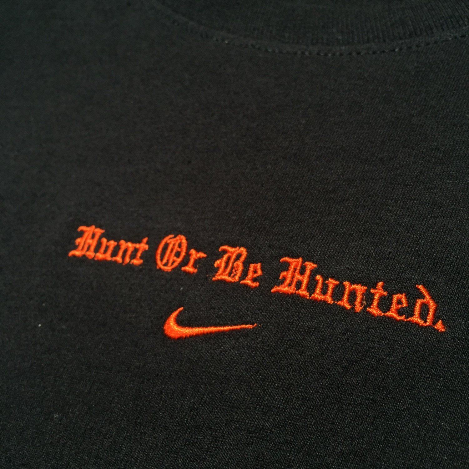 "01446227 Nike Lebron James X Atmos ""Hunt Or Be Hunted"" Tee"