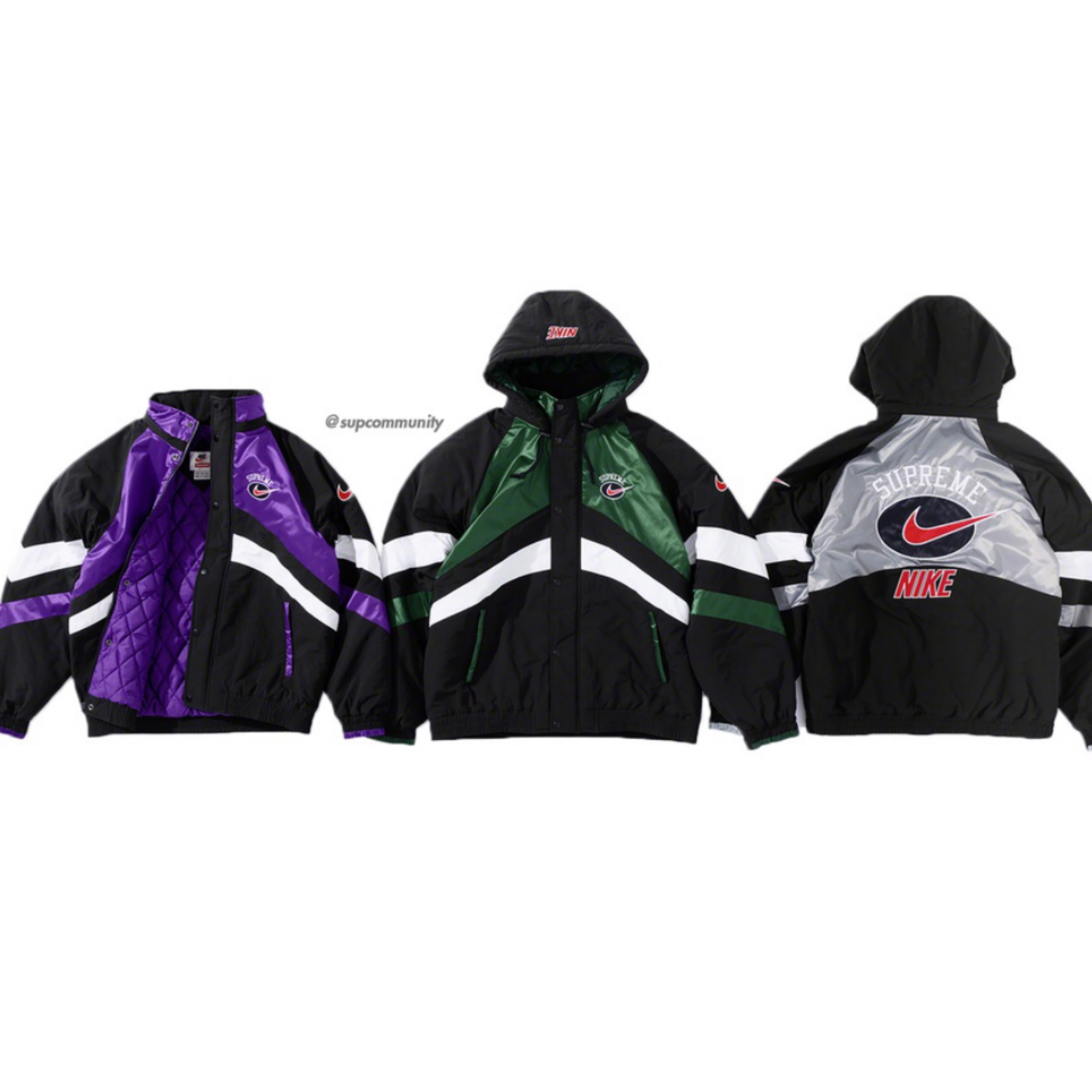 Supreme Nike Hooded Sport Jacket Small 200+ Sales
