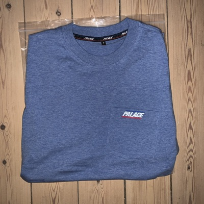 Palace Basically A Pocket Longsleeve Navy
