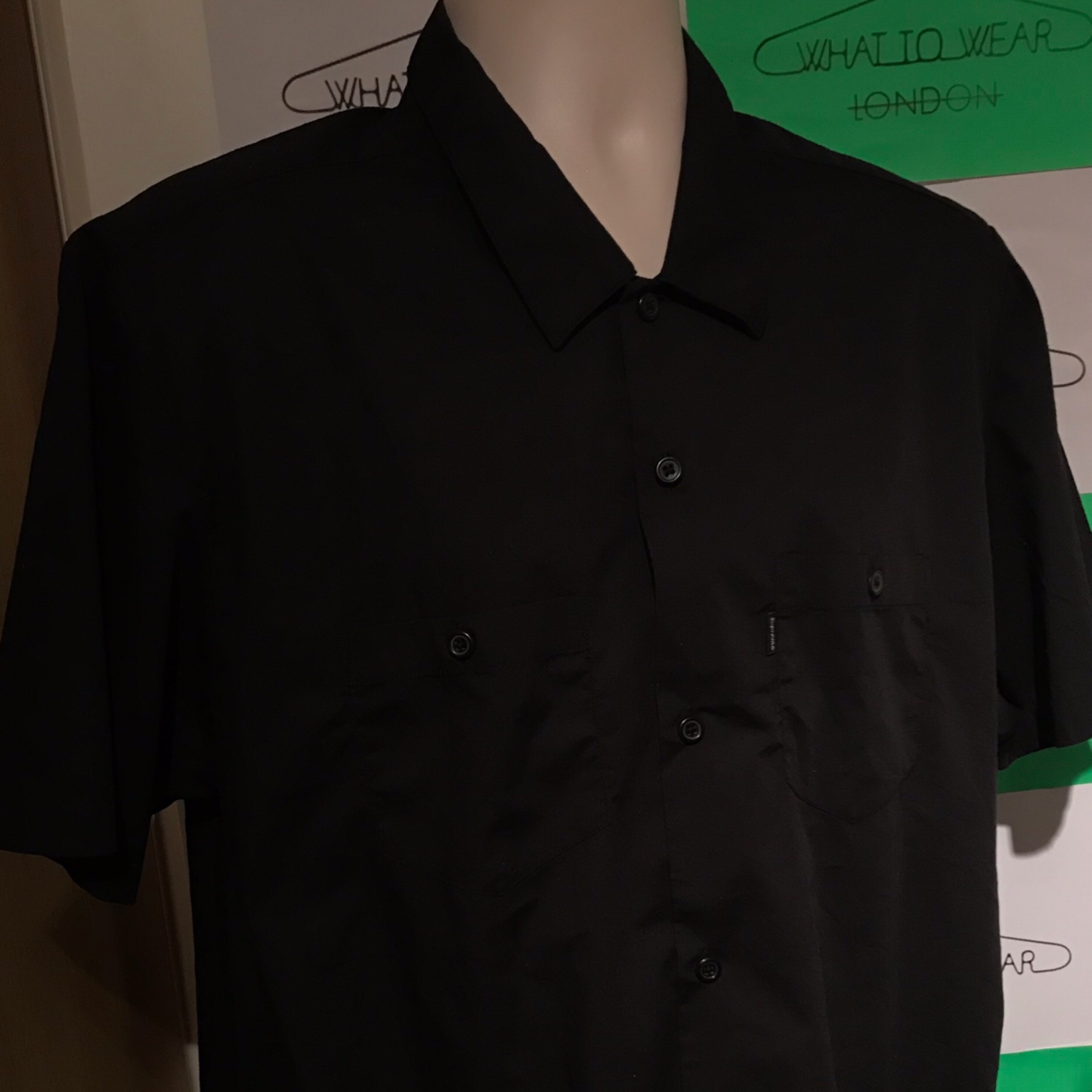 Ss16 Supreme Mary S/S Work Shirt