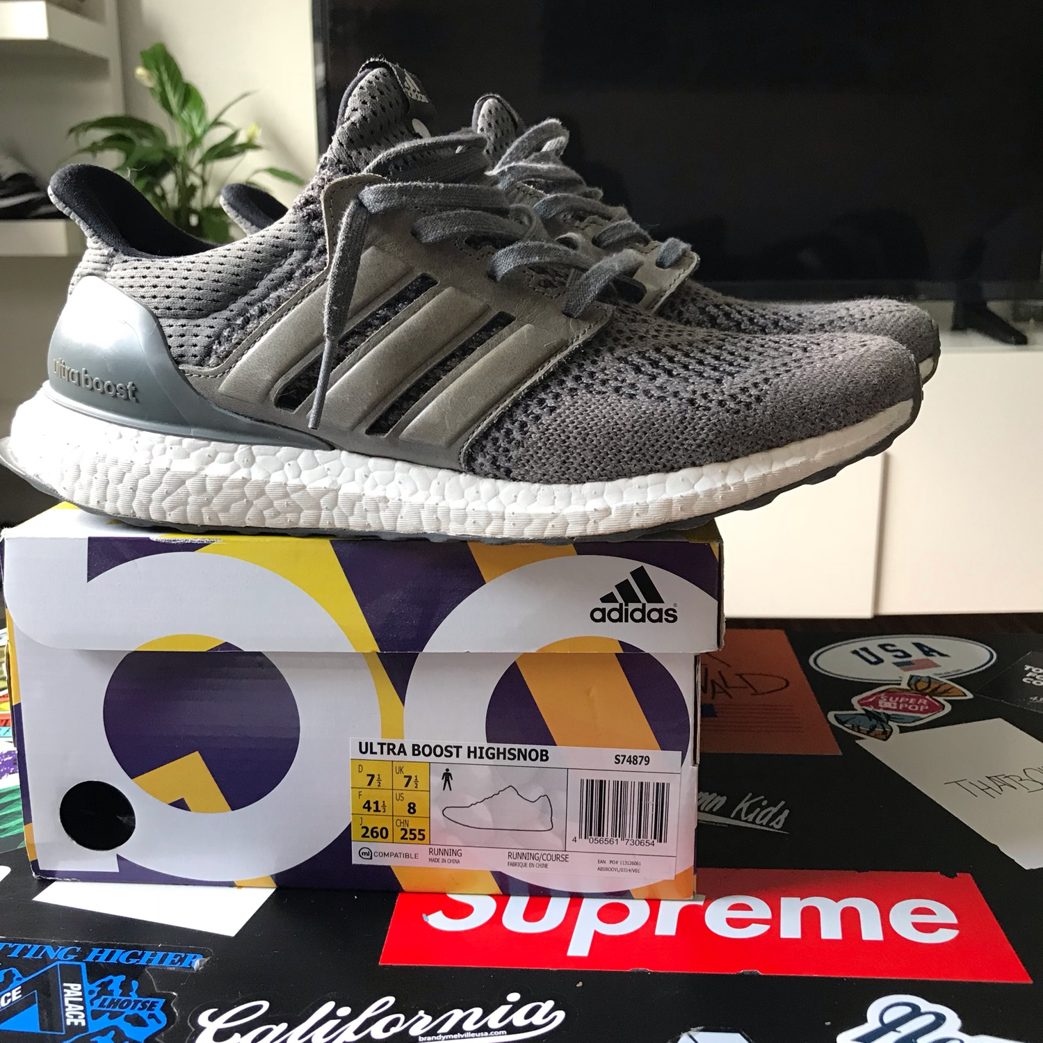 outlet store 8bfc7 26e8f Adidas Ultra Boost Highsnobiety Size 41 1/3