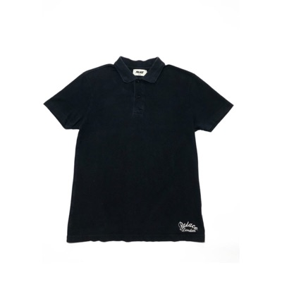 Palace London Polo Tee Navy Blue Size Small