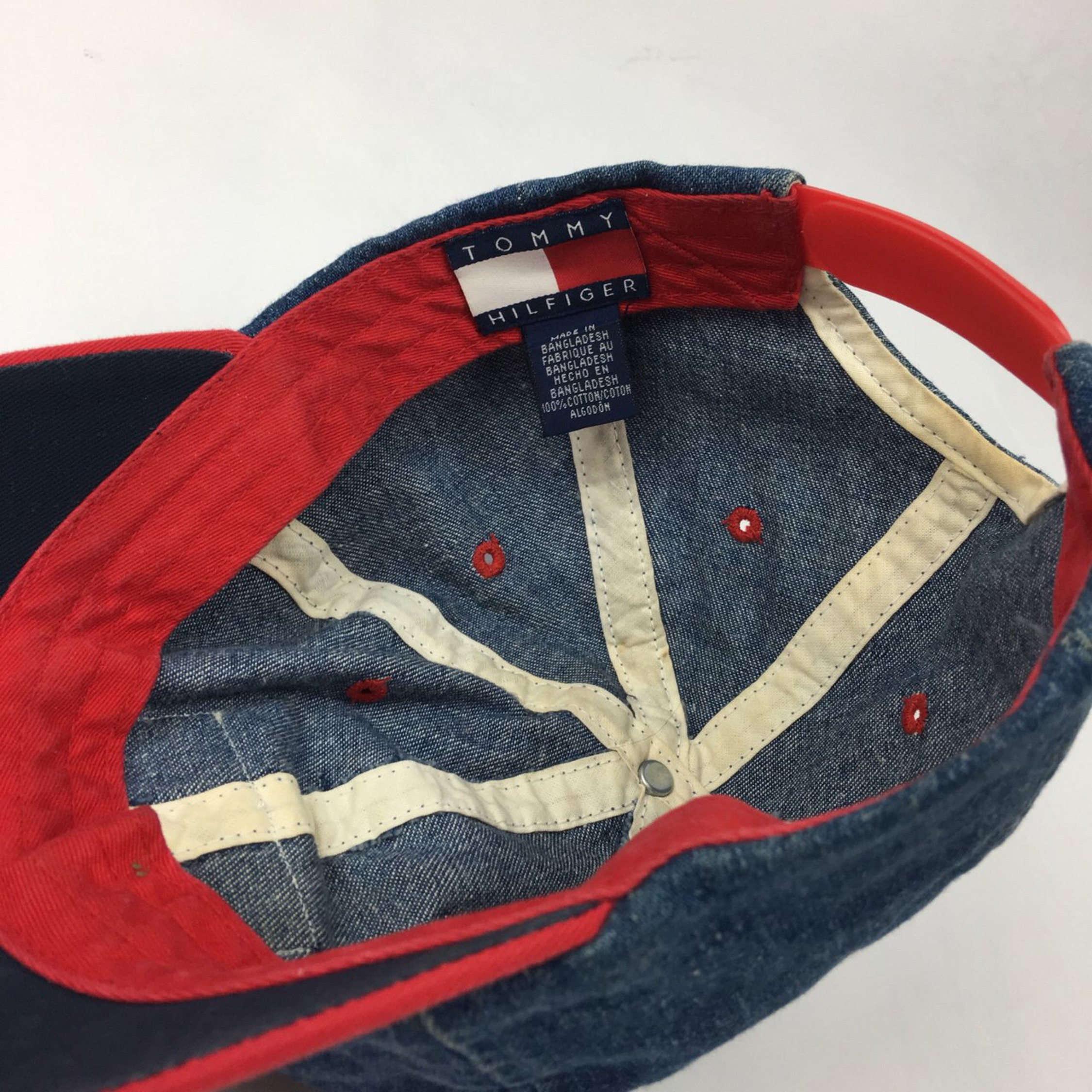 Vintage Tommy Hilfiger Denim Dad Cap