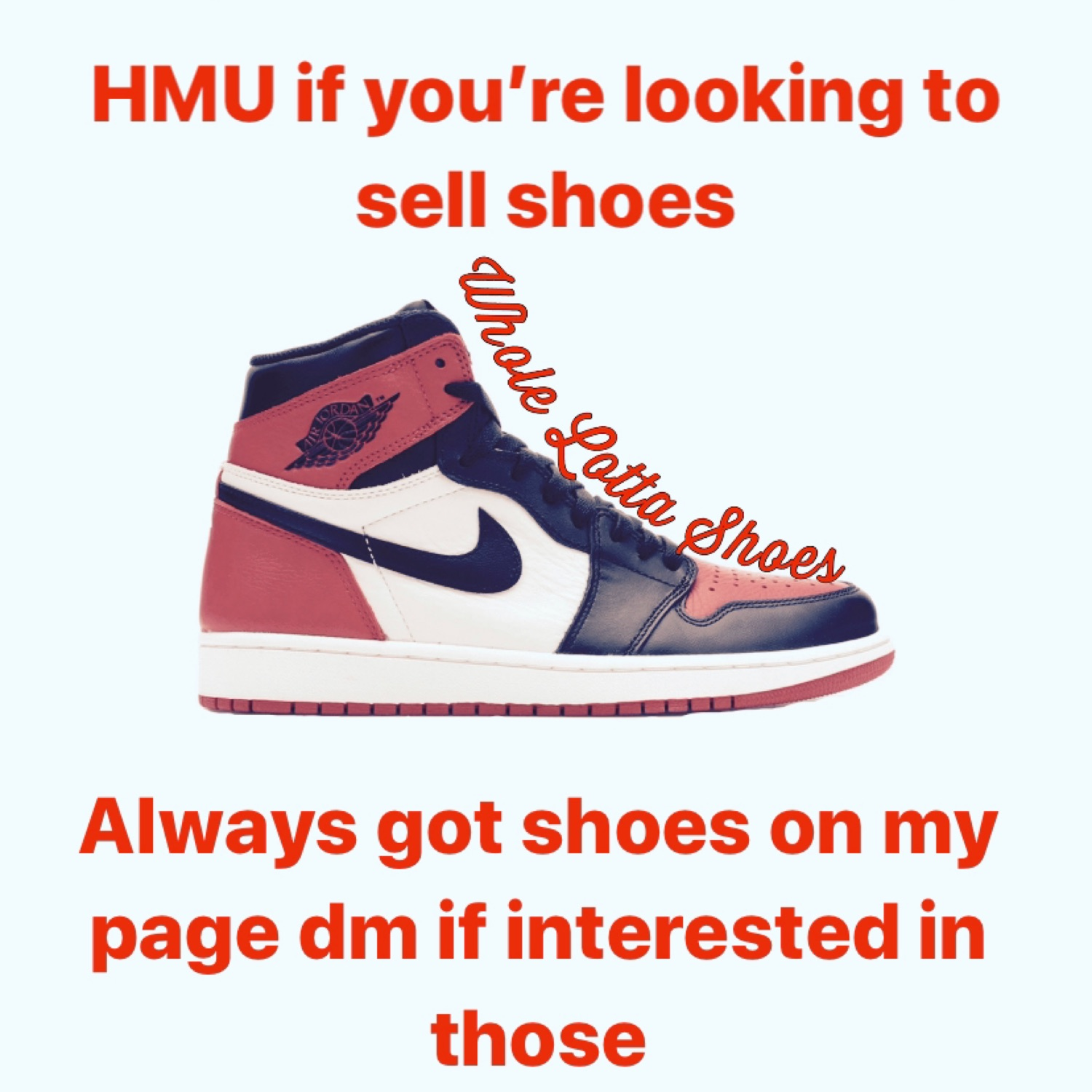 Sell Me Your Old Shoes