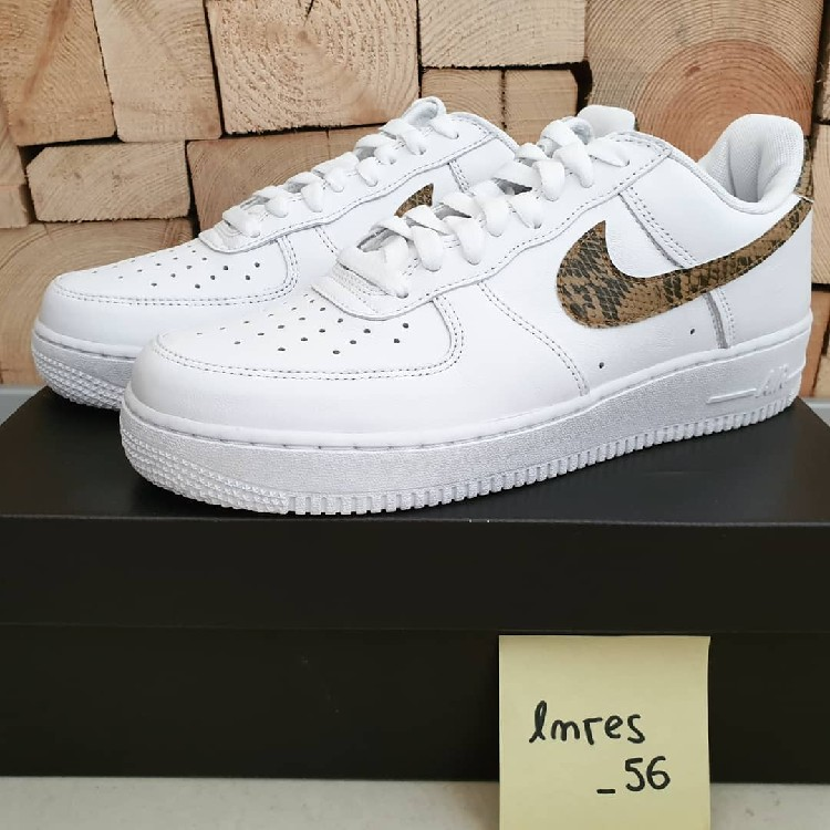 Are You Copping The Nike Air Force 1 Low Ivory Snake (96