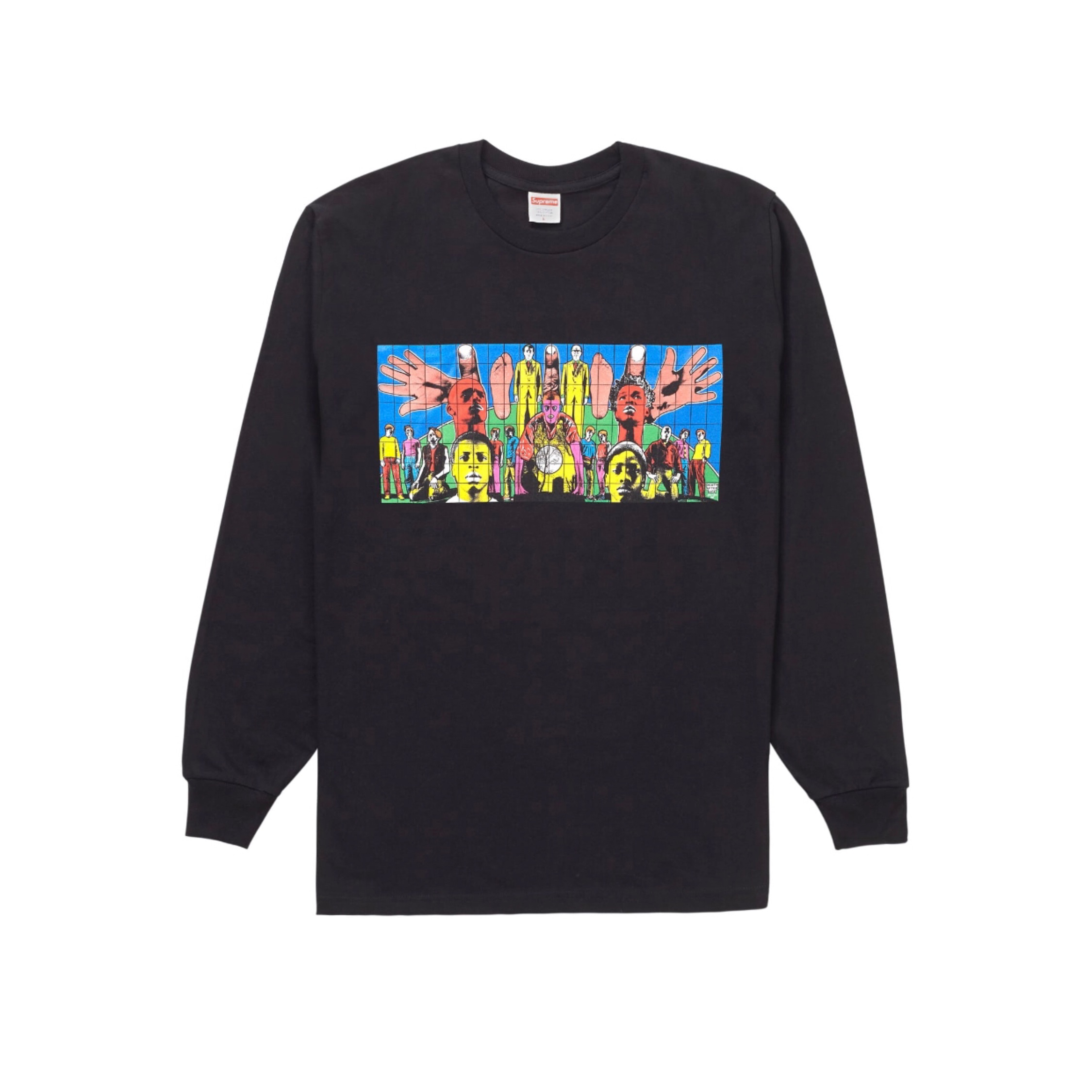 Supreme Death After Life L/S Tee Black Ss19