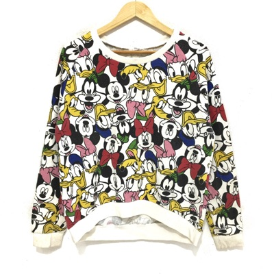 Vtg Disney Mickey Mouse And Friends Sweater