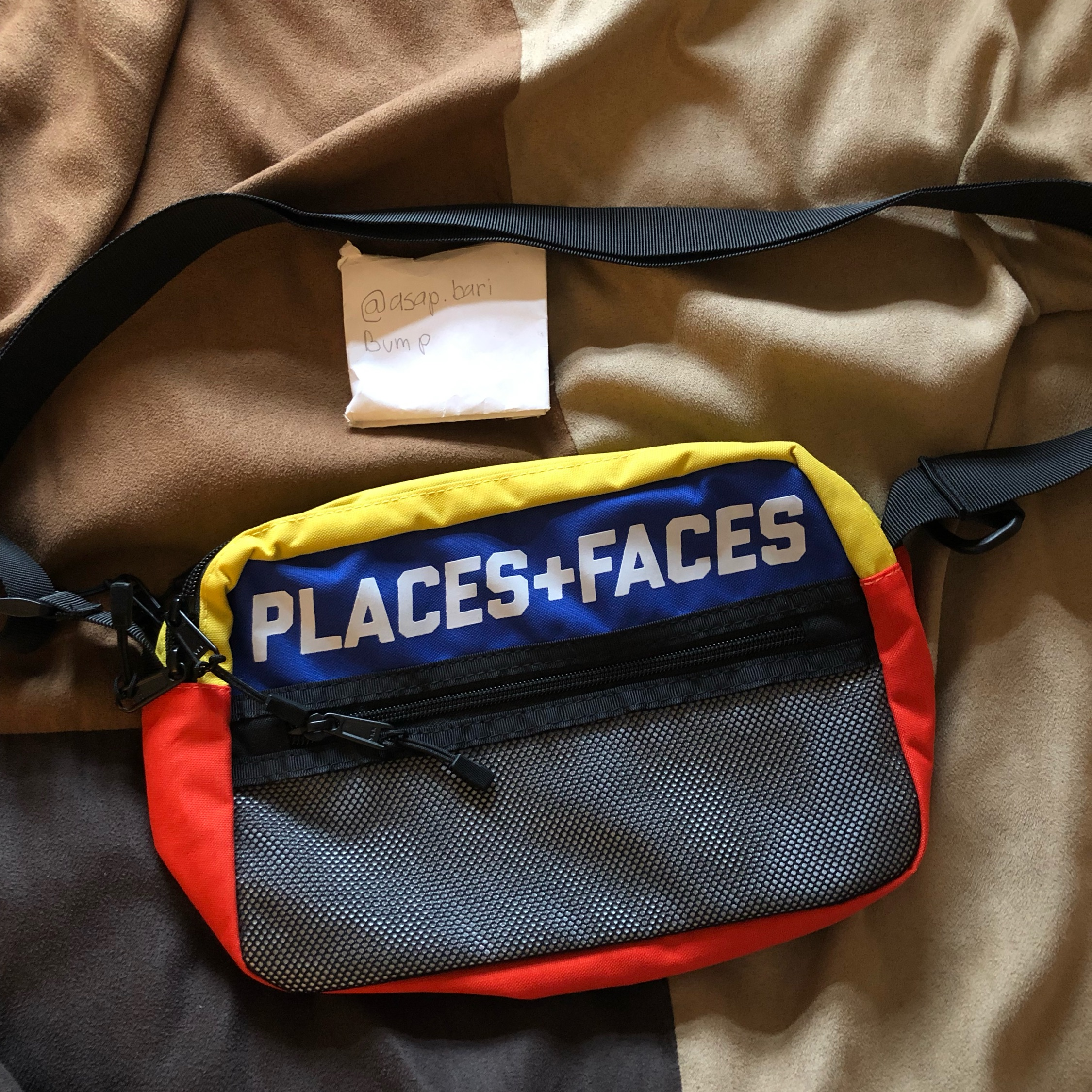 Places + Faces X Hbx Sidebag