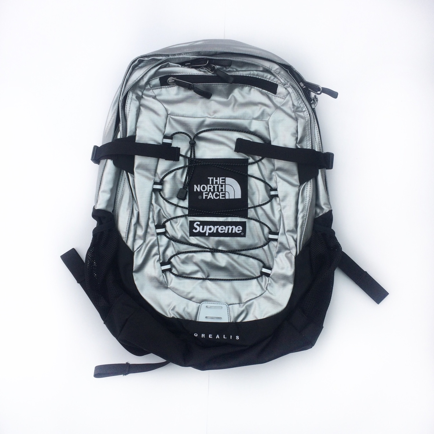 66c3758eb Supreme X The North Face Metallic Backpack
