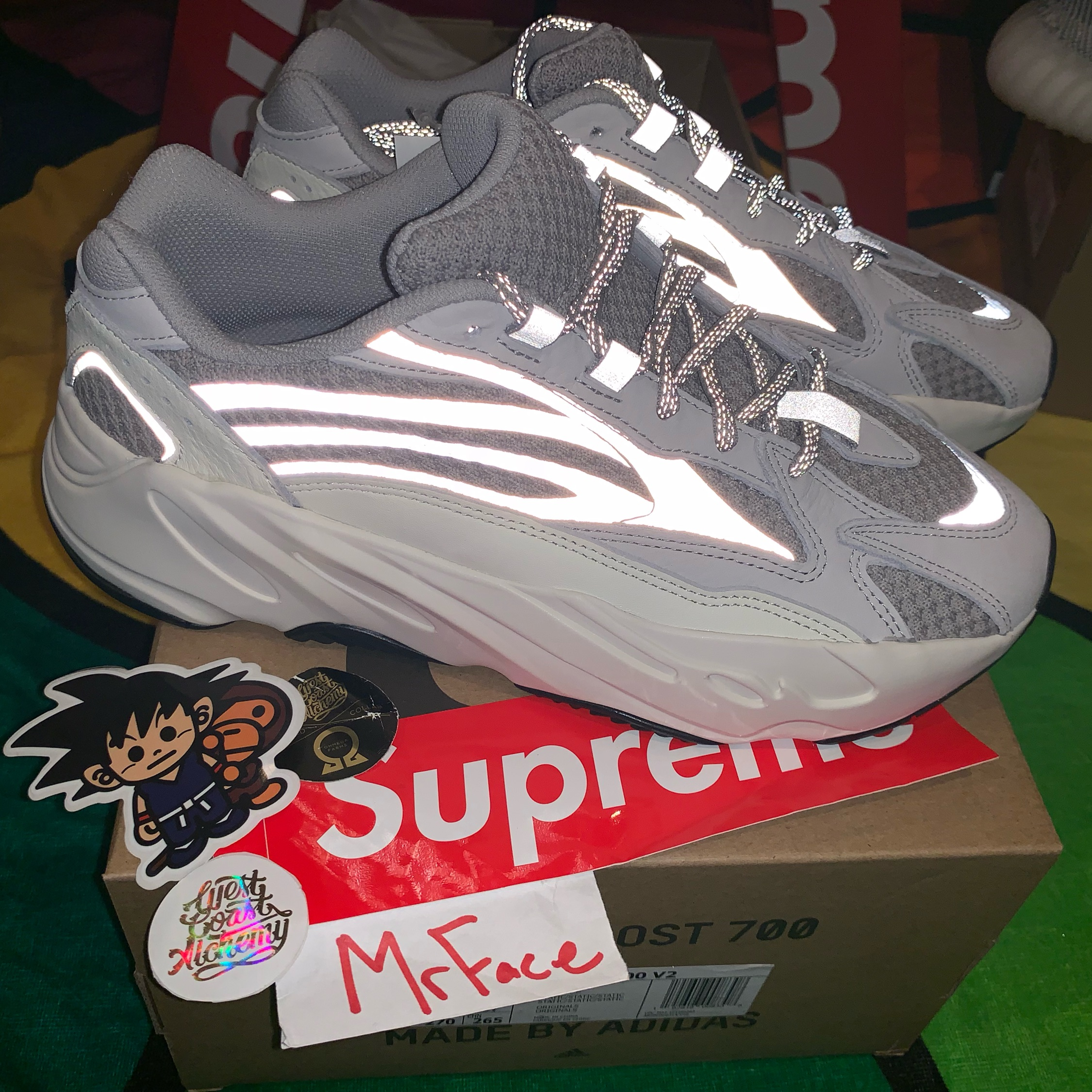 finest selection 29c26 64b5c Yeezy 700 Static 9