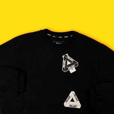 Palace Re-Sponder Tech Crew Black