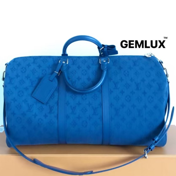 Louis Vuitton M44645 Navy Denim Keepall