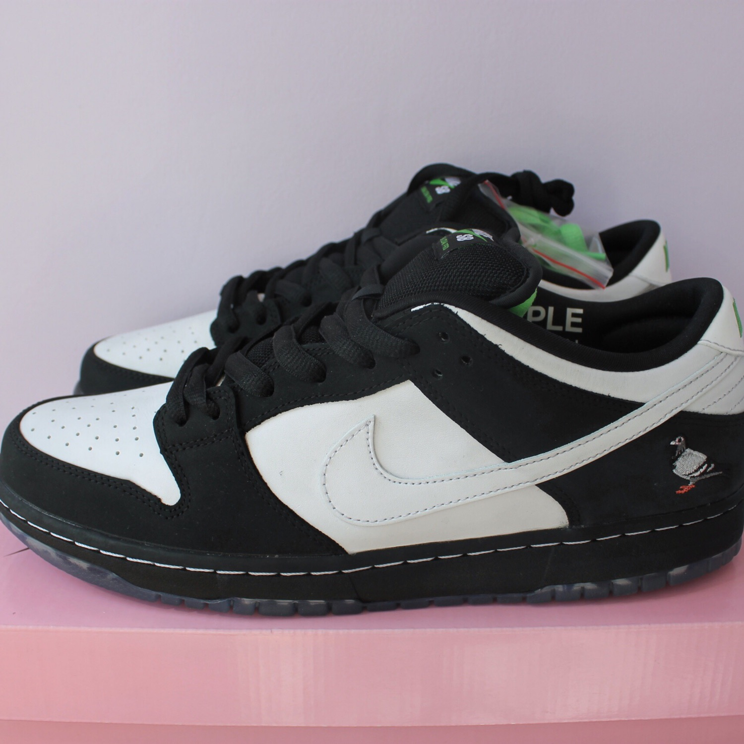 info for 26b9d 71c77 Nike Sb Dunk Low Staple Panda Pigeon