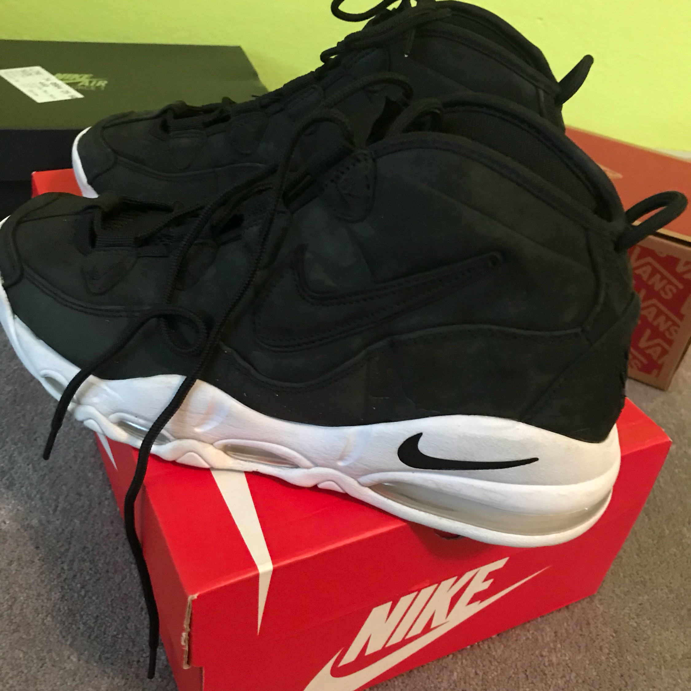 separation shoes e4a0b 69c88 Nike Air Max Uptempo 95 Black Pack