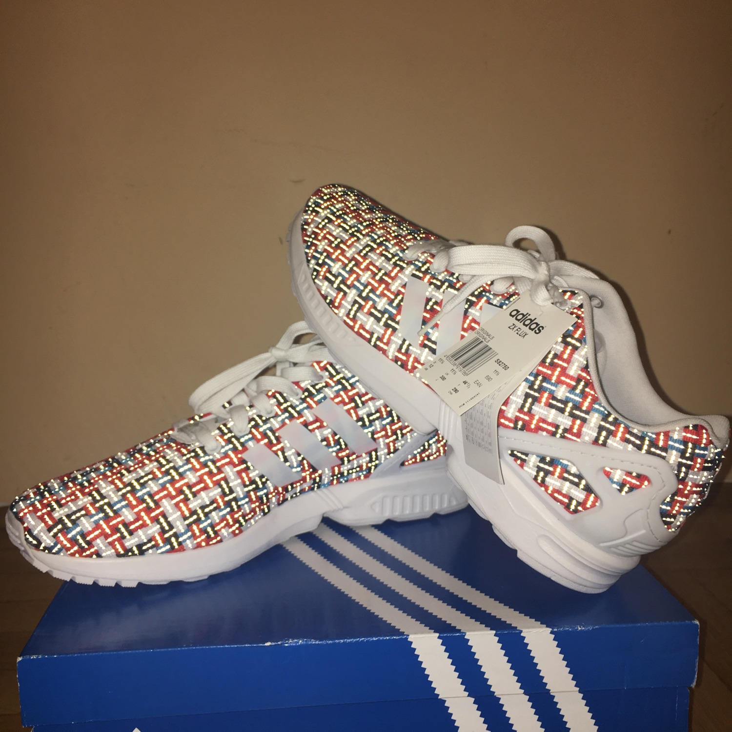 pretty nice 26eb9 b2546 Adidas Zx Flux Woven (S8270) Limited