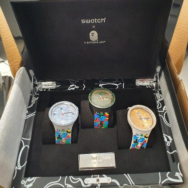 Set Swatch x Bape watches collection 2020 only 183 Piece in The world