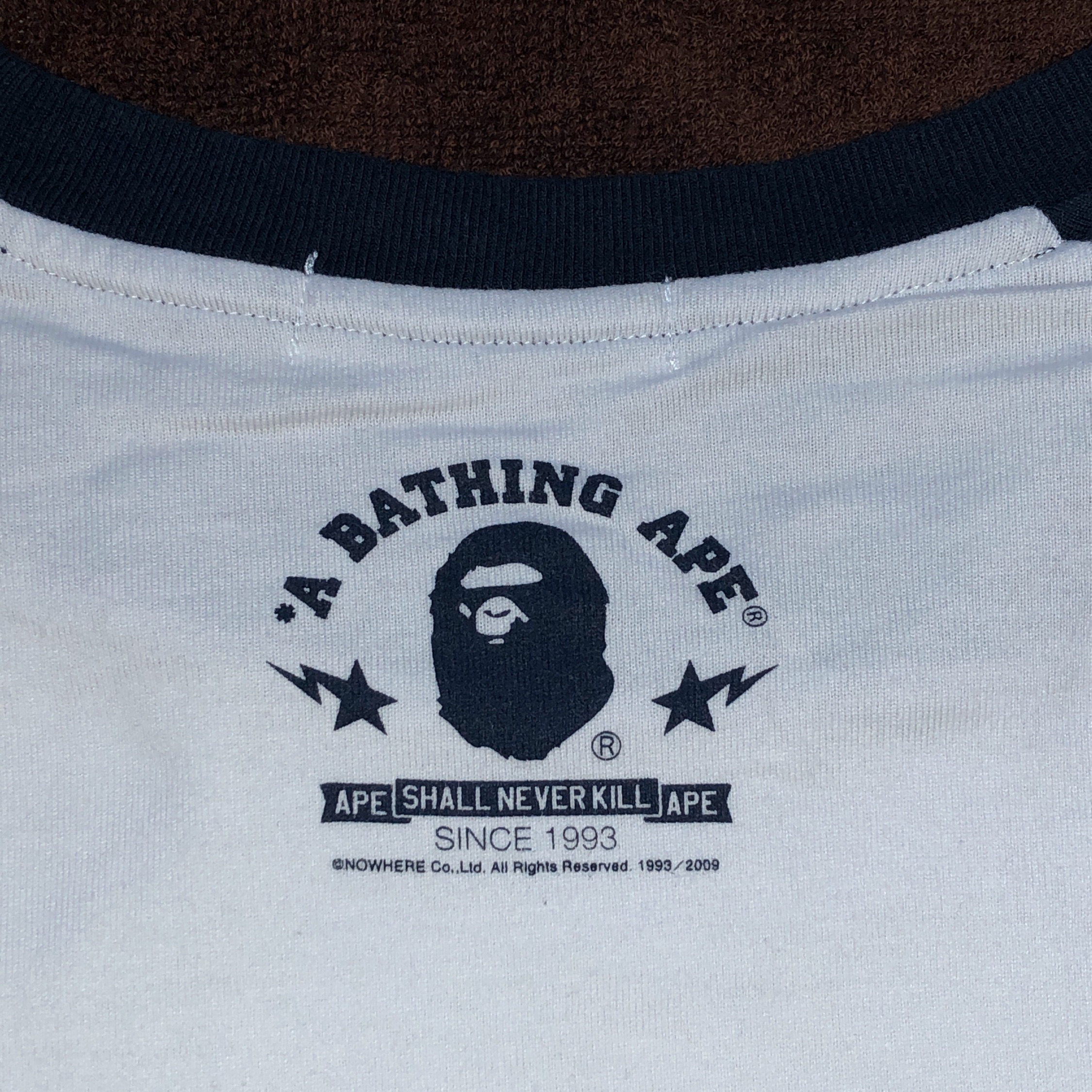 Bape Baby Milo Three Quarter Sleeve Tee