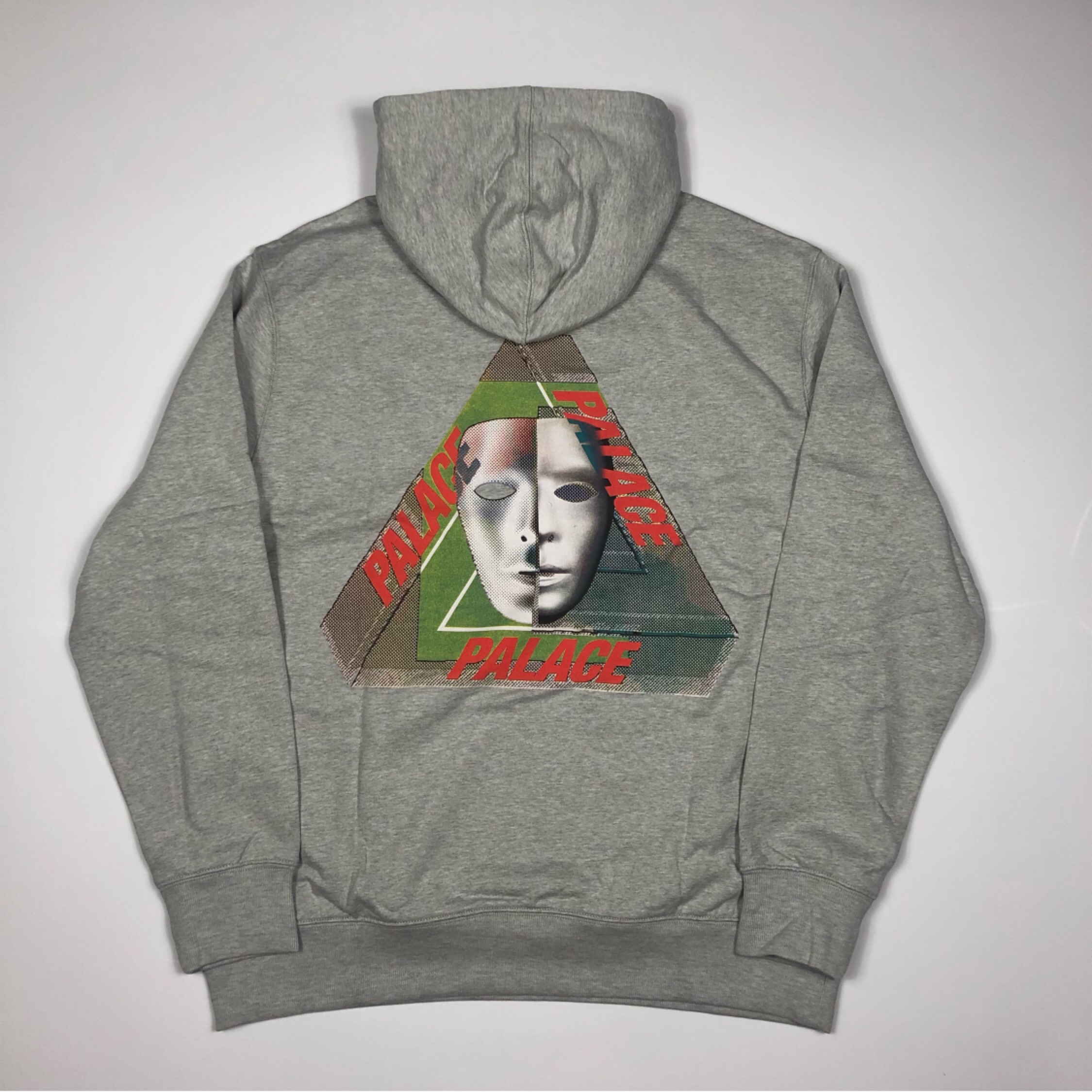Palace Tri-Bury Hood Grey Marl