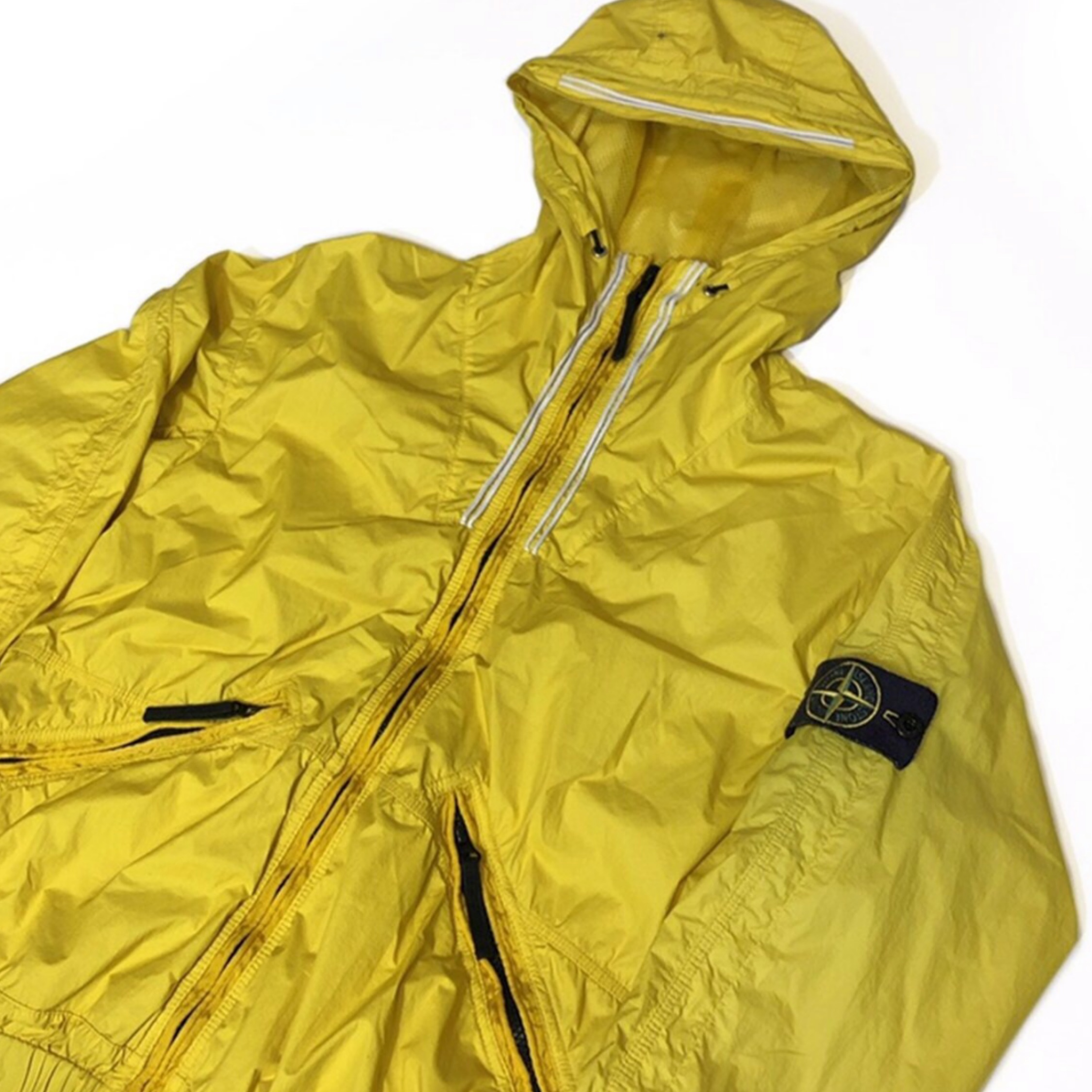 Stone Island Full Zip Double Jacket Pocket