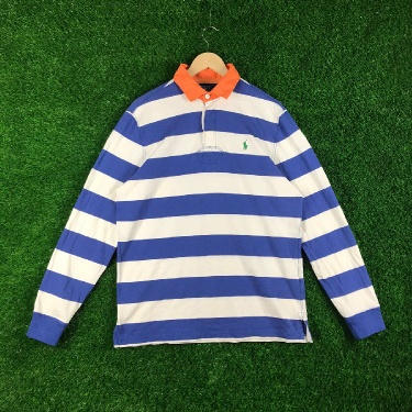 VINTAGE RALPH LAUREN POLO RUGBY POLOS STRIPES